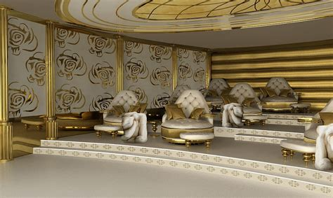 luxury white interiors ice white design designer uncovered world s first 80 metre luxury mega yacht la belle for