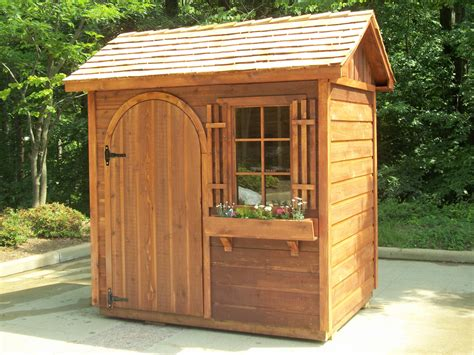Backyard Wood Sheds by Small Garden Sheds Shed Building Plans