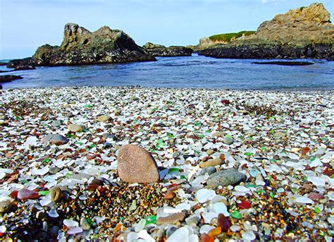 glass beaches amazing magazine glass beach