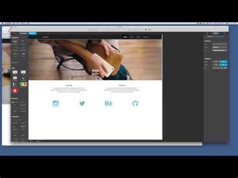 bootstrap visual layout editor pingendo bootstrap visual editor part 3 youtube