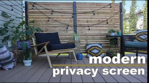 Deck Screen Wall - diy deck privacy screen do it yourself privacy wall
