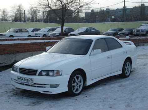Toyota Chasser 1997 Toyota Chaser Pictures