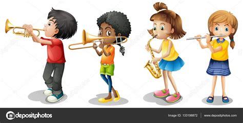 imagenes de niños tocando instrumentos musicales ni 241 os tocando instrumentos musicales archivo im 225 genes