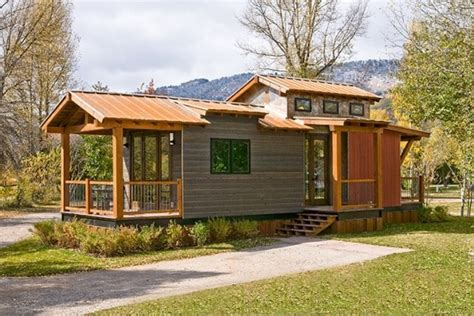 tiny house 400 sq ft the wheelhaus quot caboose quot wins big on style points