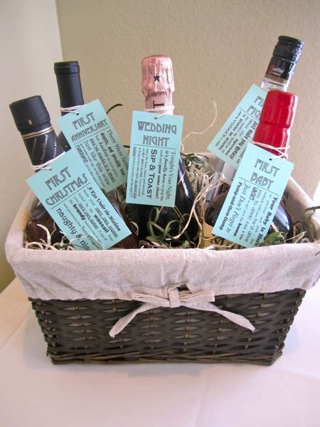 bridal shower gift basket ideas diy bridal shower bridechilla