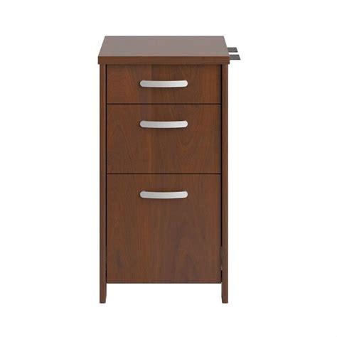 Hansen Cabinets by Envoy 3 Drawer File Cabinet In Hansen Cherry Pr76580