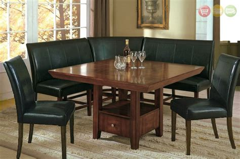 dining room nook set salem 6pc breakfast nook dining set table corner bench