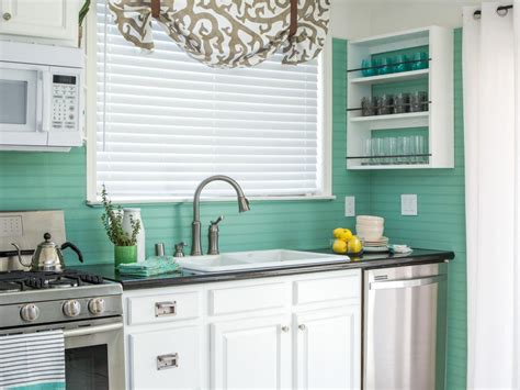 how to cover an tile backsplash with beadboard hgtv