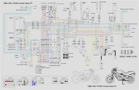 honda nt650 service manual section 19 wiring diagram