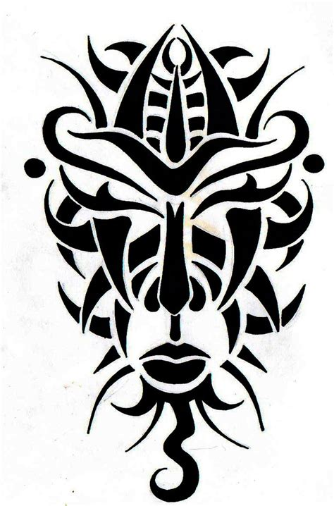 african mask designs clipart best