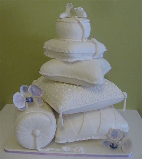 Wedding Cake Pillow by Pillow Wedding Cake Cakecentral