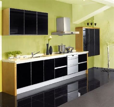 black lacquer kitchen cabinets decor ideasdecor ideas