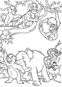 jungle coloring pages jungle book coloring pages to and print for free