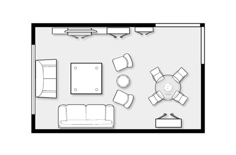 Room Floor Plan by Small Living Room Ideas
