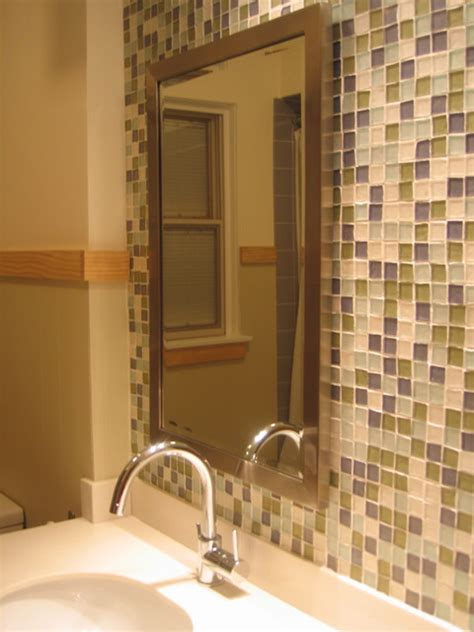 recycled glass tiles bathroom bathroom recycled glass tile
