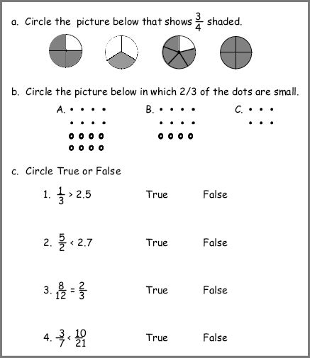 Math Fractions Worksheets 4th Grade by Fraction Worksheet For Grade 4 Kelpies