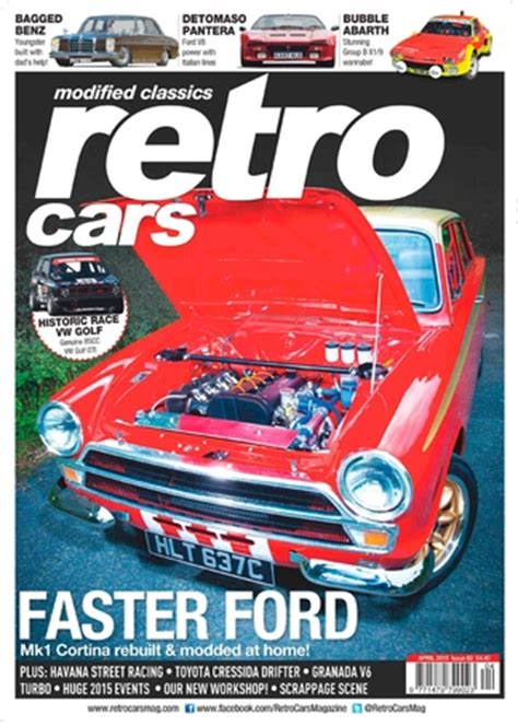Auto Zeitschriften by Retro Cars Magazine Subscription Isubscribe Co Uk
