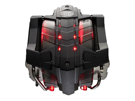 cooler master cpu fan cooler master reveals tower v8 gts cpu cooler