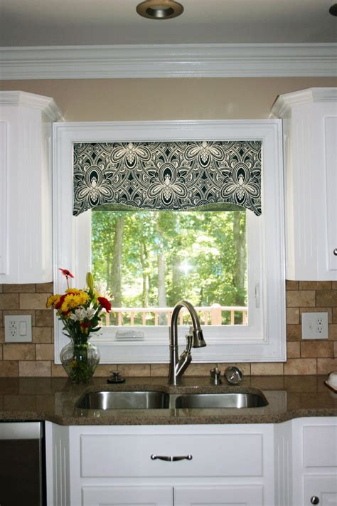 Kitchen Shades Ideas Kitchen Window Cornice Ideas Kitchen Window Valances Patterns Cool Kitchen Window Valance