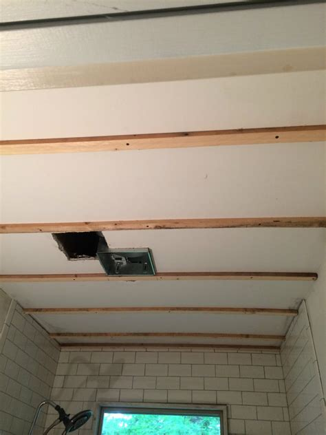 how to put in a ceiling how to install beadboard on the ceiling refresh living