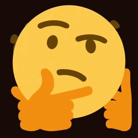emoji gif thinking emoji gif thinking emoji 3d discover gifs