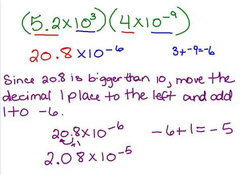exponential pattern exles multiplying exponents