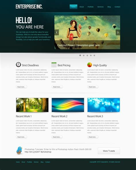 photoshop layout tutorials 2012 how to create a professional web layout in photoshop
