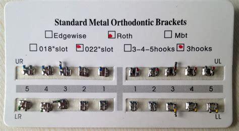 Bracket Metal Geousis Mini Roth 5 dental supply roth 022 metal braces mini brackets orthodontics buy mini brackets orthodontics
