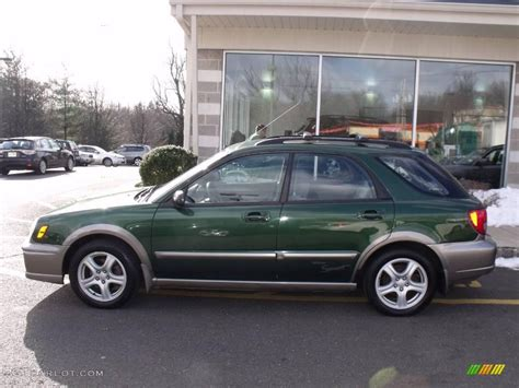green subaru hatchback 2003 savanna green metallic subaru impreza outback sport