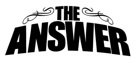 The Answer the answer s micky waters on their new album