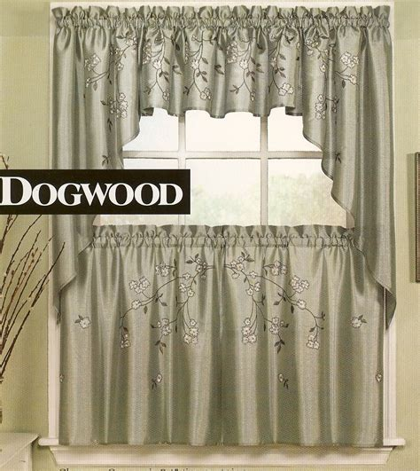 Clearance Kitchen Curtains Dogwood Kitchen Curtains Clearance