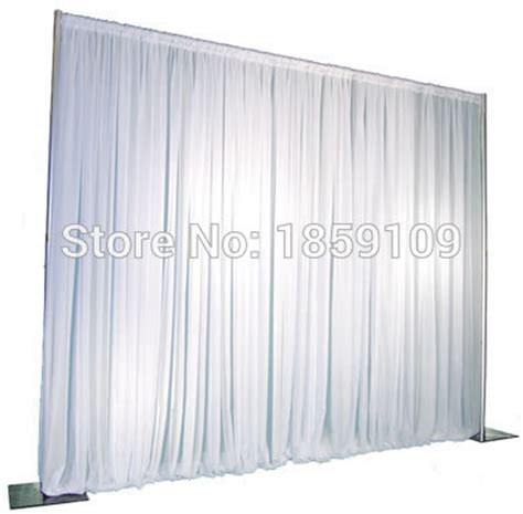 pipe and drape supplies 3m 3m wedding drapery pipe stand wedding decor pipe and