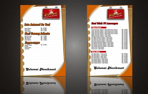 download desain daftar menu daftar menu nyanyat by viedart on deviantart