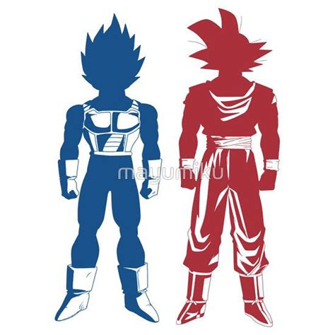 goku and vegeta dragon ball z t shirt posters pinterest