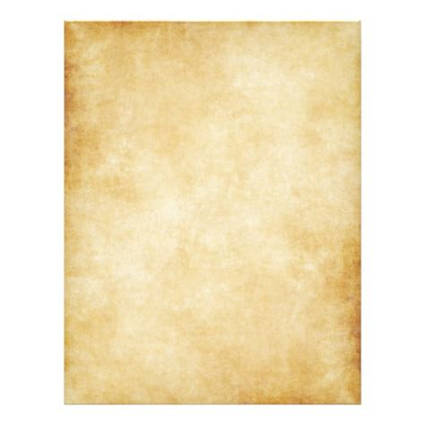 parchment template parchment paper template background zazzle