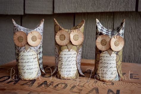 How To Make Owls Out Of Toilet Paper Rolls - paxton valley folk whoos and boos