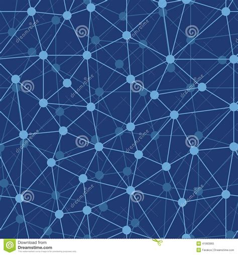 design pattern node abstract grid texture stock vector image 41993965