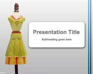 free fashion powerpoint templates mannequin powerpoint template