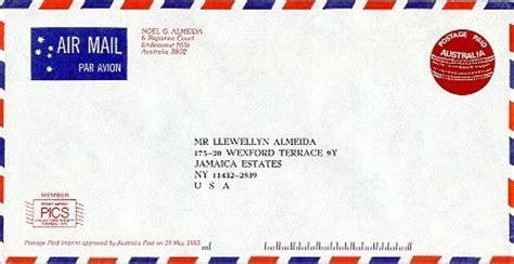 Address Australia Australia Post Card Postage Lights Card And Decore