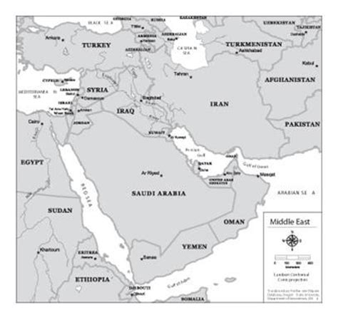 middle east map high res study of transboundary dispute resolution