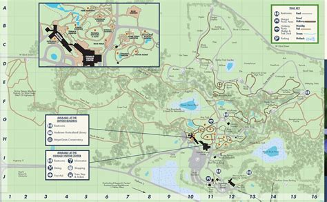 Minnesota Landscape Arboretum Trail Map Minnesota Landscape Arboretum Hiking