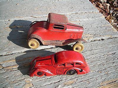 vintage cast iron touring car, antique toy model t