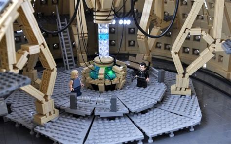 how to build a tardis console room tardis console room built in lego randommization