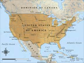 Usa Mexico Map by Map Of The United States