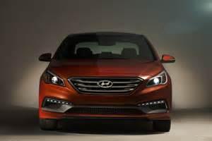 2015 Sonata Hyundai 2015 Hyundai Sonata 2014 New York Auto Show Live Photos