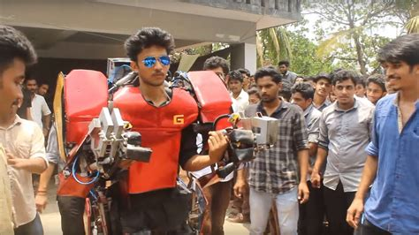 indian engineering students build iron man suit