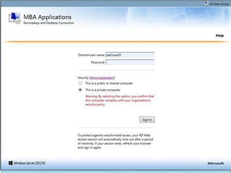 Mba Login by Accessing Degroote Mba Apps On Windows 7 8 Joyce Centre