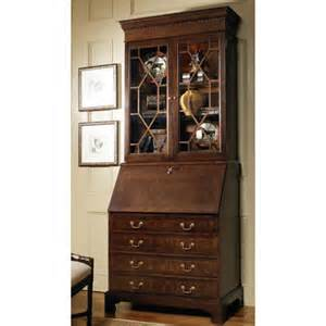 Cherry Wood Computer Desk With Hutch Jamestown Secretary Desk With Drawers And Hutch Wayfair