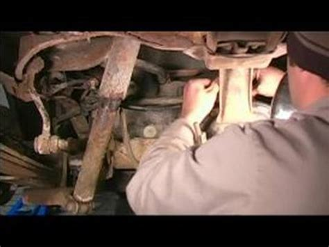 how to replace steel brake lines : installing a rear axle