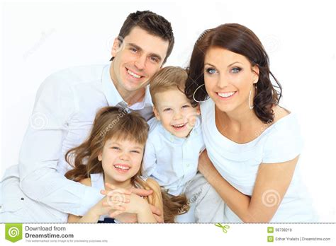 beautiful family beautiful happy family